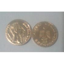 Lote De 20 Mini Monedas De 1 Peso Maximiliano 22k