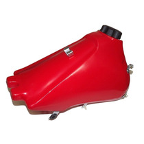 Tanque Plástico Para Xtz 125- 10,5 Lts Vermelho / Gilimoto