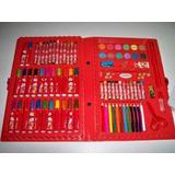 Estojo Kit Material Escolar 86 Peças