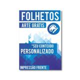 2500 - Folheto, Panfleto, Flyer - 10x15 Cm - 115gr - Frente