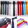 Corbata Seda Delgada Slim Ropa Para Hombre Mujer Casual