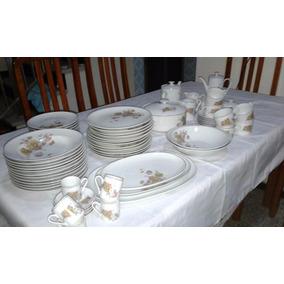 Aparelho De Jantar E De Café Em Porcelana Real 1979