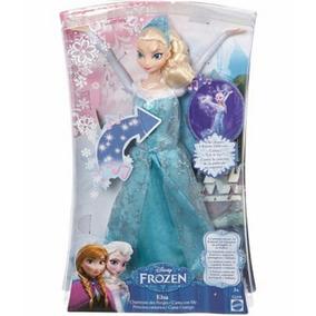 Nueva Disney Muñeca Frozen Elsa Que Canta Original De Hasbro