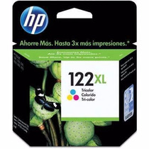 Ch564hb Cartucho Hp 122xl Color 1000 1050 - Original Vencido