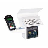 Kit Suportes Leitor Optico Teclado Pinpad Caixa Supermercado