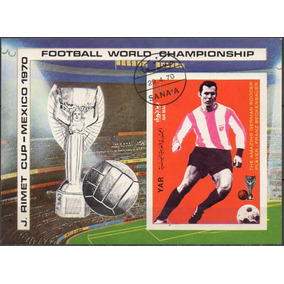 Iêmen - Yar - Copa Do Mundo - México 1970 - Taça Jules Rimet