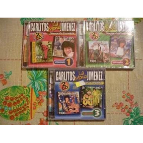 Lote Cd Mona Jimenez. La Discografia Completa Vol. 1, 2 Y 3!