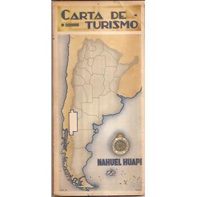 Nahuel Huapi * Patagonia * Gran Mapa Del Parque Nacional *