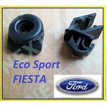 Grampo + Borracha Da Vareta Capo Ford Fiesta Ecosport Escort