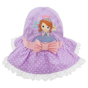 Chapeu Princesa Sofia Disney Store Praia Piscina Tam M/g