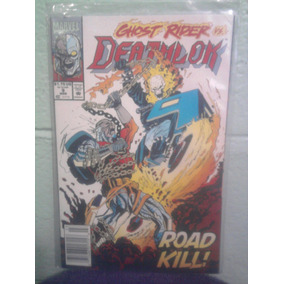 Marvel Comics Deathlok Vs Ghost Rider Ingles 1992 Crossover