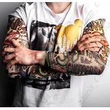 1 Peça Manga Tatuagem Falsa Fake Tattoo Frete Grátis R:354
