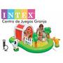 Intex Centro De Juegos Inflable Granja Animales Agua