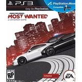 Need For Speed Most Wanted Ps3 Fisico New Full Gamer
