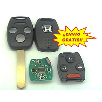 Llave Honda Acord Civic Accord Con Chip ¡envio Gratis!
