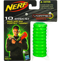 Refil Nerf Vortex Com 10 Discos Hasbro