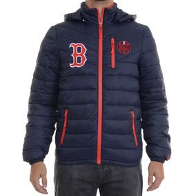 Jaqueta Masculina New Era Split Pocket Boston Redsox Marinho
