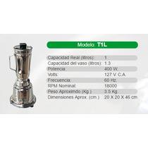 Licuadora Industrial/comercial Marca Tapisa Modelo T1l Acero
