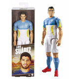 Mattel Futbolistas Muñeco Luis Suarez Articulado 30cm