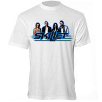 Camiseta Skillet - Camisa Banda Rock
