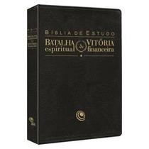 Bíblia De Estudo Batalha Espiritual E Vitória Financeira
