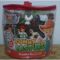 Brinquedo De Montar Fazenda Feliz