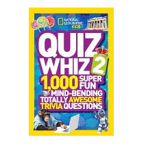 Libro Quiz Whiz 2: 1,000 Super Fun, National Geographic