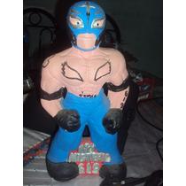 Figura De Resina Luchador Rey Misterio Alcancia