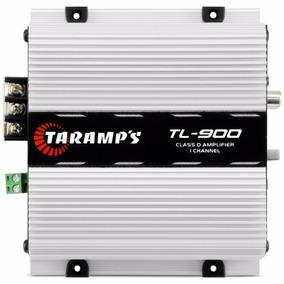 Módulo Taramps Tl-900 1 Canal 300w Rms 2 Ohms