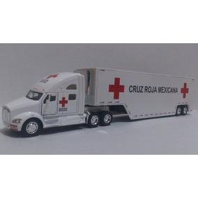 Trailer Kemworth T700 Cruz Roja Mexicana Esc. 1:68