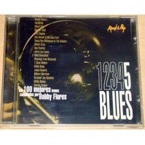 Bobby Flores 100 Mejores Temas De Blues Vol 5 Cd Rock&pop