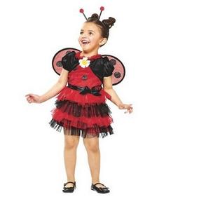 Disfraz Primavera Niña Catarina Talla 2 A 3 Años Con Alas