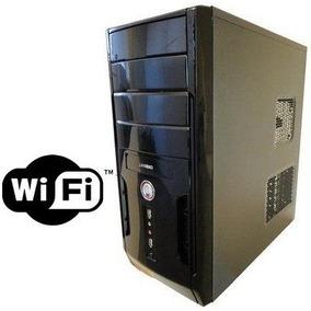 Cpu Nova Intel Core 2 Duo 4gb Hd 500gb Dvd Wifi