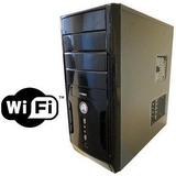 Cpu Nova Intel Core 2 Duo 4gb Hd 500gb Gravador Dvd Wifi