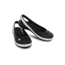 Balerinas Crocs Modelo Genna Ii Talla 13 (30-31) Color Negro