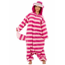 Pijama Mameluco De Gato Alicia Pais Maravillas Para Adultos