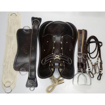 Sela Arreio Completo Marreca Laço Comprido Cavalo Crioulo