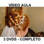 Cabeleireiro, Penteados Profissionais 3 Dvds!! Completo