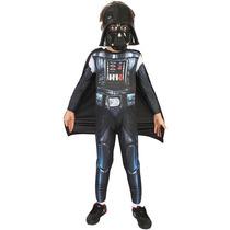 Fantasia Infantil Star Wars Darth Vader Longa G.