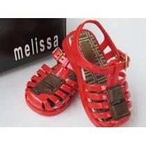 Mini Melissa Baby Aranha Chocolate