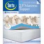 Serta De 2.5 Pulgadas Reina Gel-memory Foam Mattress Topper
