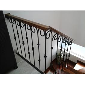 Barandales herrer a escaleras hogar nuevo en mercado libre - Barandales de madera exteriores ...