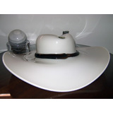 Gran Sombrero Capelina Cristal De Murano