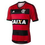 Camisa Flamengo Rubro Negra adidas 2014 Caixa