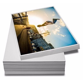 400 Folhas Papel Fotográfico Glossy À Prova D´água 230g A4