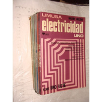 Libro Electricidad Limusa , Harry Mileaf , Año 1977 , 6 Tom