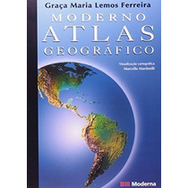 Livro Moderno Atlas Geografico 4 Ed. Moderna Paradidaticos