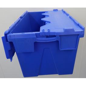 Caixa Plastica Com Tampa Alc 64365 Polipropileno