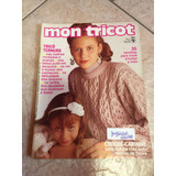 Revista Mon Tricot 35 Receitas Crochê Tricô Cachecol Pull
