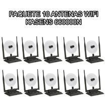 10 Antenas Wifi Usb 3800mw 38dbi 100mts 6600 Internet Mdn